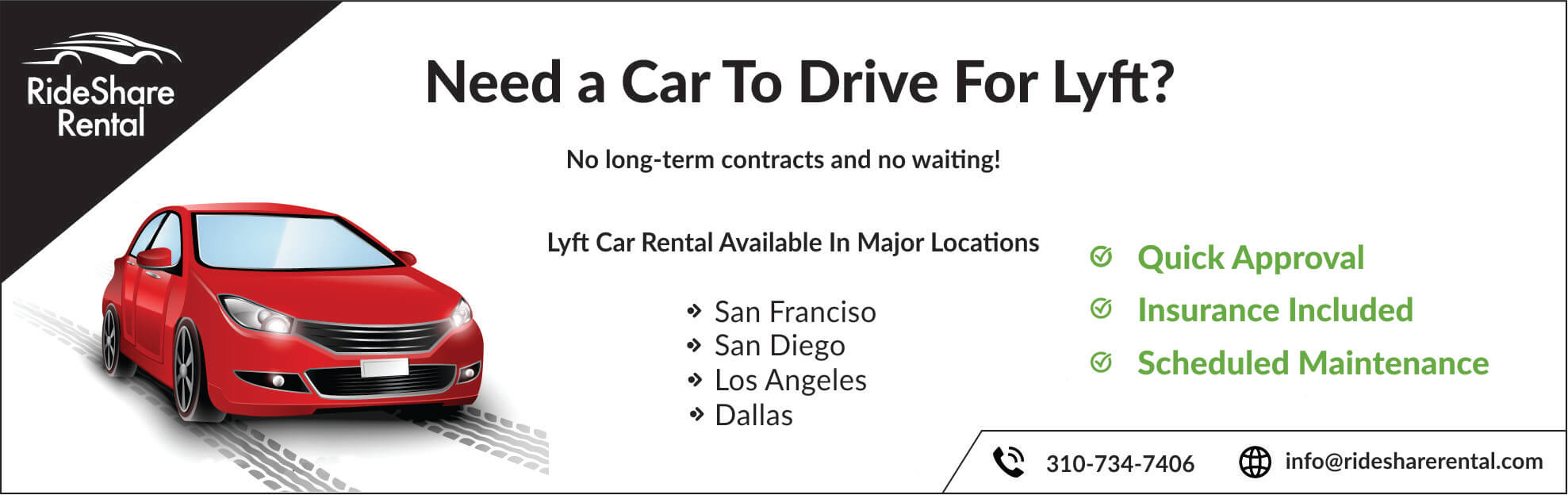 Lyft Car Rental California