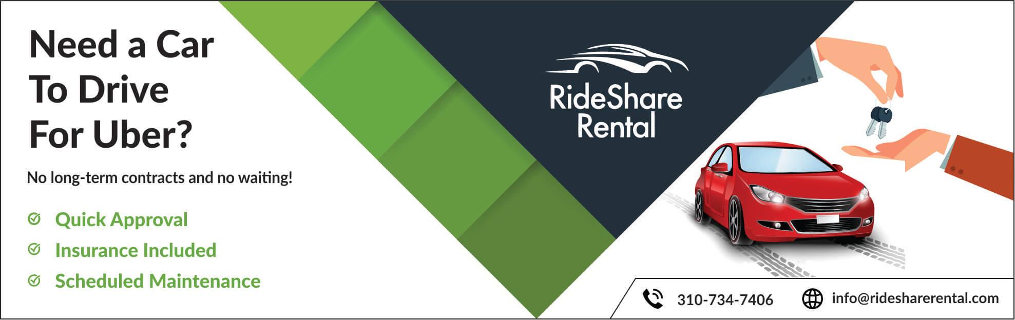Uber Car Rental Service California